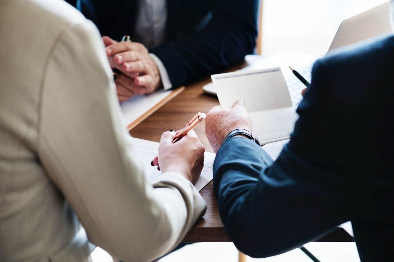 Discussion autour de la stratégie de prospection dans le secteur bancaire