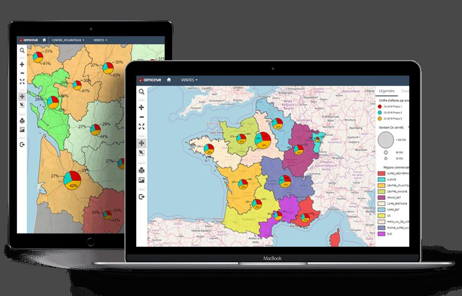 tableau-de-bord-géographique-KPIs